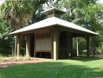Palmetto Bluff Community Mail Kiosk