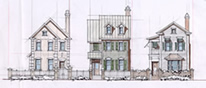Design Study Townhomes Tradition SC